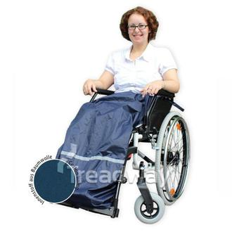 Mobility Wheel Chair Cover Leg Protection 1150mm Length WRA-L