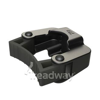 Medical Cane Holder with two holes 6mm ID