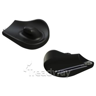 Medical Arm Support Hand Rest & Connecting Plate LH PU-Hemi-3L-S