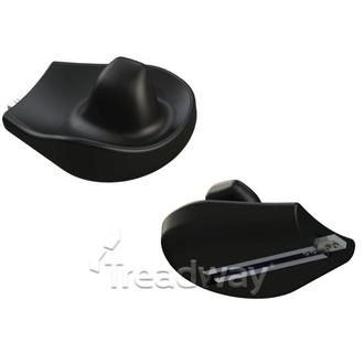 Medical Arm Support Hand Rest & Connecting Plate RH PU-HEMI-3R-S