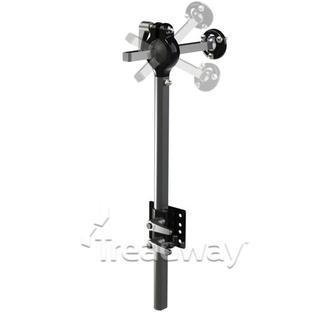 Medical Head Rest Holder with Ball Clamp inc socket joint and screws