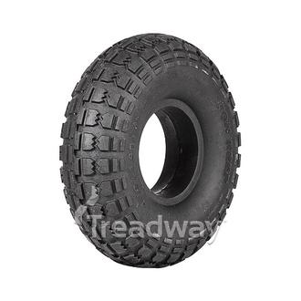 Tyre 410/350-4 Solid Rubber W106