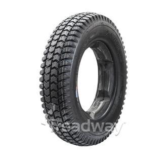 Tyre 300-8 Black PU Fill Lugged Profile W2805 LUGGED C248