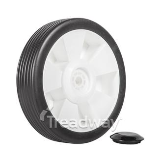 "Wheel 7"" Plastic Ctr ½"" Plain Bore"