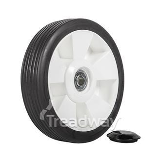 "Wheel 7"" Plastic Ctr ½"" BB"
