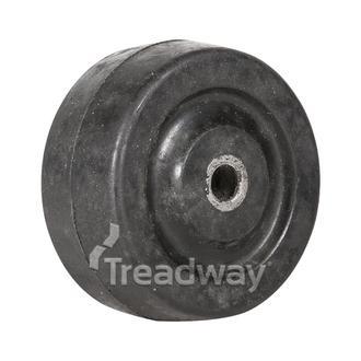 Wheel 40mm Nylon 6.2mm Bore Solid