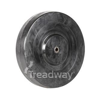 Wheel 200mm Steel 10.0mm Bore Solid 450kg
