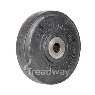 Wheel 200mm Cast 26.0mm Bore Solid 450kg