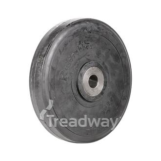 Wheel 250mm Cast 26.0mm Bore Solid 500kg
