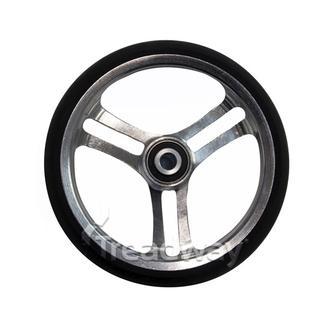 "Mobility Castor Wheel 5"" Black Wheel Chair 8mm Bearing 32mm Wide"
