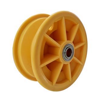 "Rim 2.55-6"" Plastic Yellow ¾"" FB"