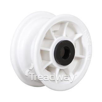 "Rim 1.75-4 Plastic White ¾"" Bush"