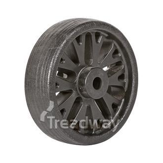 """Jockey Wheel Only 6"""" 150x50x15.5mm bore HD Spoke Knott"""
