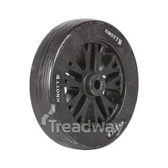 """Jockey Wheel Only 8"""" 200x50x15.5mm bore. HD Spoke Knott (99214/99215)"""