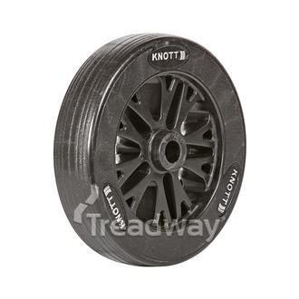 """Jockey Wheel Only 8"""" 200x50x20.5mm bore HD Spoke Knott"""