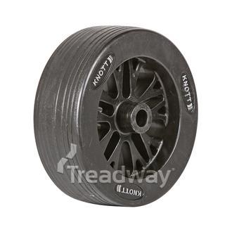 """Jockey Wheel Only 8"""" 200x70x20.5mm bore HD Spoke Knott"""