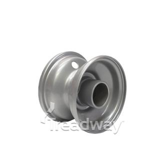 Rim 2.50-4 Steel Silver 50.8mm Plain Bore