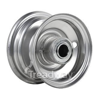 "Rim 2.50-5 Steel Silver 1"" FB"