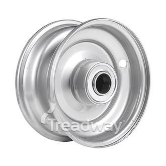 "Rim 2.50-6 Steel Silver 1"" FB"
