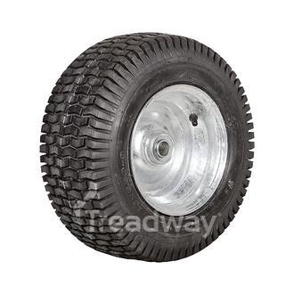 """Wheel 5.50-8"""" Galv 1"""" FB Rim 20x8-8 4ply Turf Tyre W130 Deestone"""