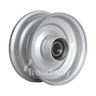Rim 2.50-6 Steel Silver 25mm BB