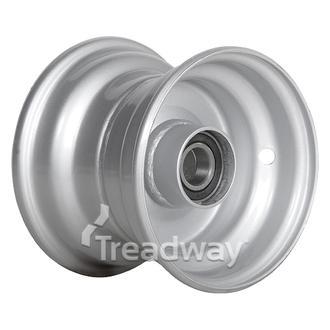 Rim 4.50-6 Steel Silver 25mm BB