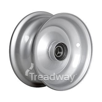 "Rim 3.75-8"" Steel Silver 25mm BB"