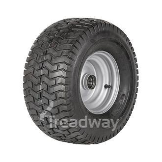 """Wheel 5.50-8"""" Silver 25mm BB Rim 18x950-8 4ply Turf Tyre W130 TRAX"""