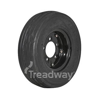 "Wheel 5x4.5"" 2pc Rim 400-8 Solid Tyre (TBD)"