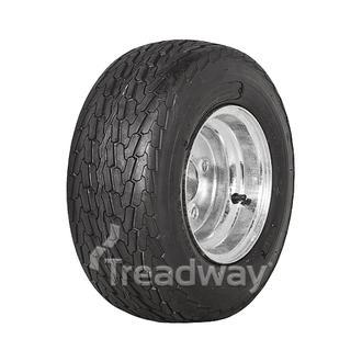 """Wheel 5.375-8"""" Galv 4x4"""" PCD Rim 16.5x6.5-8 6ply Road Tyre W146 Deestone"""
