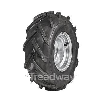 "Wheel 7.00-8"" Galv 4x4"" PCD Rim 18x950-8 6ply Tractor Tyre W124"