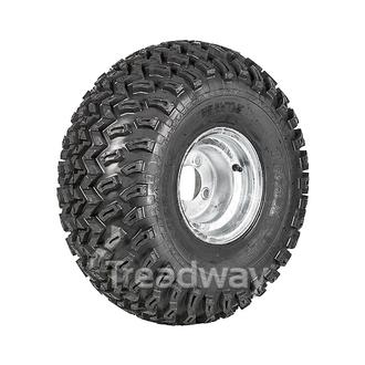 "Wheel 7.00-8"" Galv 4x4"" PCD Rim 22x11-8 6ply AT Tyre W162"