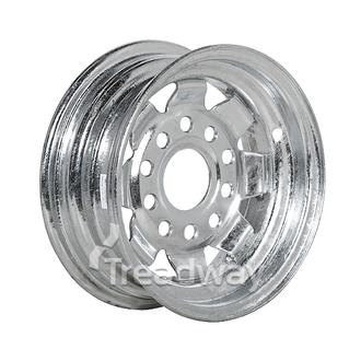 "Rim 4.00-10 Galv Spoke 5x4.5/5x4.25"" PCD Multi hole"