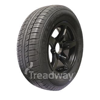 "Wheel 13x5"" Alloy Blade Satin Black 5x4.5"" PCD Rim 185/70R13 Tyre W188 Westlake"