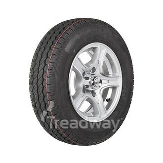 "Wheel 13x5"" Alloy Razor Silver 5x4.5"" PCD Rim 165R13C 8ply Tyre W312 Westlake"