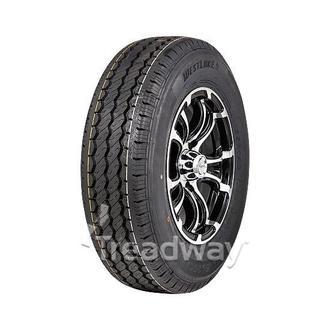 "Wheel 13x5"" Alloy Loadstar XT Black 5x4.5"" PCD Rim 165R13C 8ply Tyre W191 Veloci"