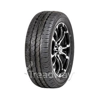 "Wheel 13x5"" Alloy Loadstar XT Black 5x4.5"" PCD Rim Tyre 175R13C 8ply W305 Westla"