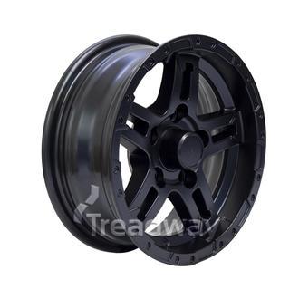 """Rim 13x5 Alloy Classic GT Black Satin 5x4.5"""" PCD"""
