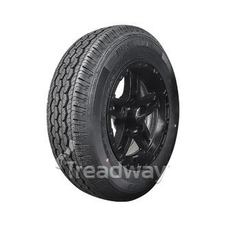 "Wheel 13x5"" Alloy Classic Blk Satin 5x4.5"" PCD Rim 165R13C Tyre W312 Westlake"