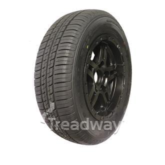 "Wheel 13x5"" Alloy Classic Blk Satin 5x4.5"" PCD Rim 175/70R13 W188 Westlake 82T"