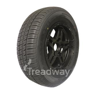 "Wheel 14x5.5"" Alloy Blade Satin Black 5x4.5"" PCD Rim 205R14C 8ply W180Westlake"