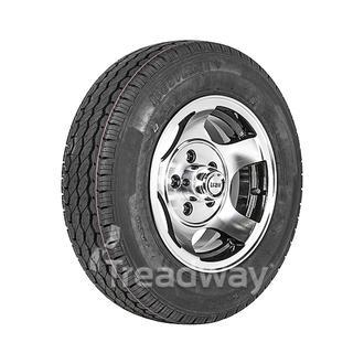 "Wheel 13x5.5"" Alloy Starmax Black 5x4.5"" PCD Rim 165R13C 8ply Tyre W312 Westlake"