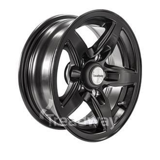 "Rim 14x5.5'' Alloy Blade Satin Black 5x4.5"" PCD"