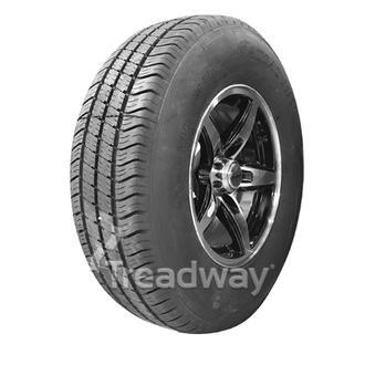 "Wheel 14x5.5"" Alloy Blade Slvr/Black 5x4.5"" PCD Rim 205R14C 8ply W180 Westlake"