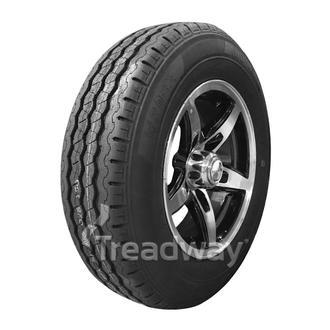 "Wheel 13x5'' Alloy Blade Slvr/Black 5x4.5"" PCD Rim 165R13C 8ply W191 Velocity 94"