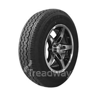 "Wheel 13x5'' Alloy Blade Slvr/Black 5x4.5"" PCD Rim 165R13C 8ply W312 Westlake 94"