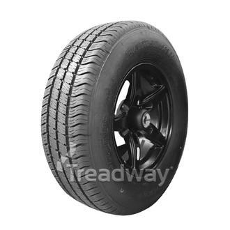 "Wheel 14x5.5"" Alloy Blade Satin Black 5x4.5"" PCD Rim 215/75R14C 8ply Tyre Westla"