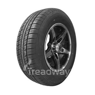 "Wheel 13x5'' Alloy Blade Slvr/Black 5x4.5"" PCD Rim Tyre 185/70R13 W188 Westlake"