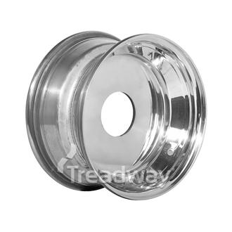 """Rim 12x6"""" Alloy Silver Solid Undrilled"""
