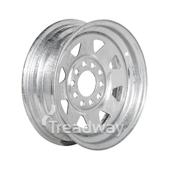 "Rim 13x4.5 Galv Spoke 5x4.25/5x4.5"" PCD"
